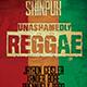Unashamedly Reggae Flyer