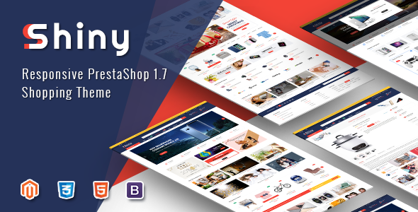 Image of Shiny - Best Responsive Prestashop 1.7 Shopping Theme