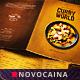 Curry World Retro Bifold Me-Graphicriver中文最全的素材分享平台