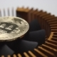 Bitcoins are Spinning on the Graphics Card Cooler - VideoHive Item for Sale