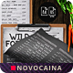 Wild Forest Single Page A4 & US Letter Menu - GraphicRiver Item for Sale