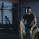 Man Having Crossfit Training with Ropes - VideoHive Item for Sale