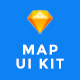 MapNavi - Maps & Navigation UI KIT for Sketch - ThemeForest Item for Sale