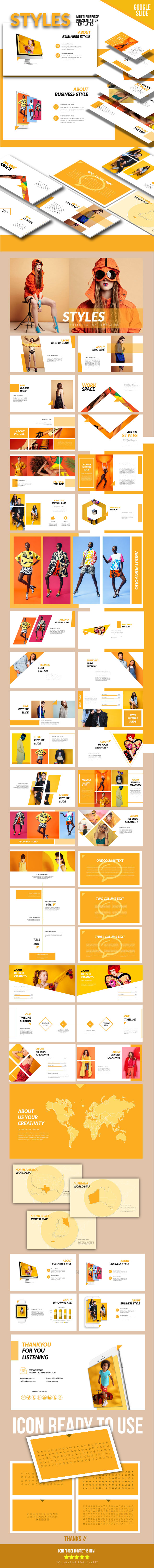 Styles - Google Slide Presentation Templates - Google Slides Presentation Templates