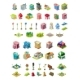 Isometric Vector Icons Set for City Constructor - GraphicRiver Item for Sale