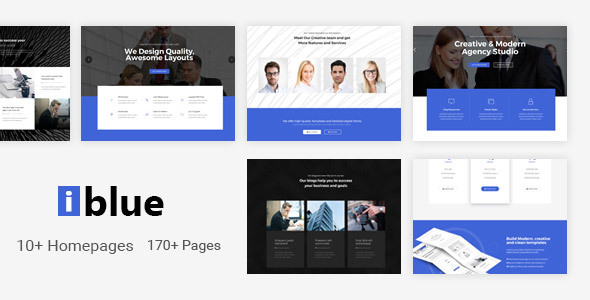 Image of iblue - Responsive Multi-Purpose HTML5 Template