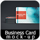 Realistic Business Card Mock-up 02