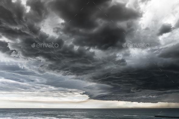 Dramatic Seascape - Stock Photo - Images