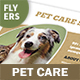 Pet Care Flyers – 4 Options - GraphicRiver Item for Sale