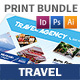 Travel Agency Print Bundle 3 - GraphicRiver Item for Sale
