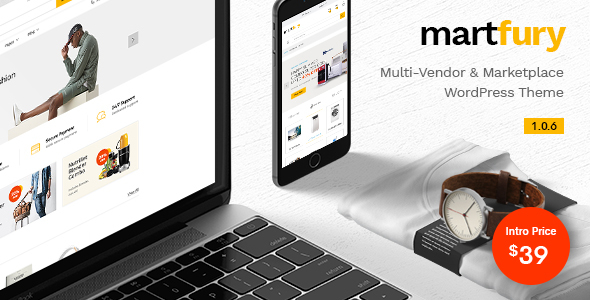 Image of Martfury - WooCommerce Marketplace WordPress Theme