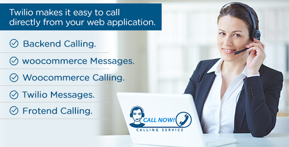 Twilio Simple Click Call & Msgs - CodeCanyon Item for Sale