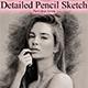 Detailed Pencil Sketch Photoshop Action - GraphicRiver Item for Sale