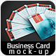 Realistic Business Card Mock-up 03 - GraphicRiver Item for Sale