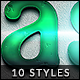 10 Detailed Graphic Styles Vol. 05 - GraphicRiver Item for Sale
