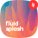 Multi Colored Fluid Splash Backgrounds - GraphicRiver Item for Sale