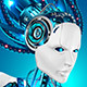 Robot Control Global Satellite Communications - GraphicRiver Item for Sale