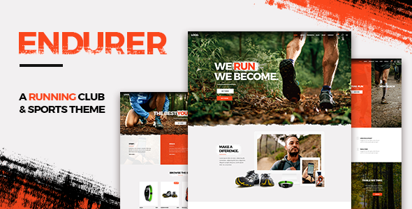 Image of Endurer - A Running Club and Sports Theme