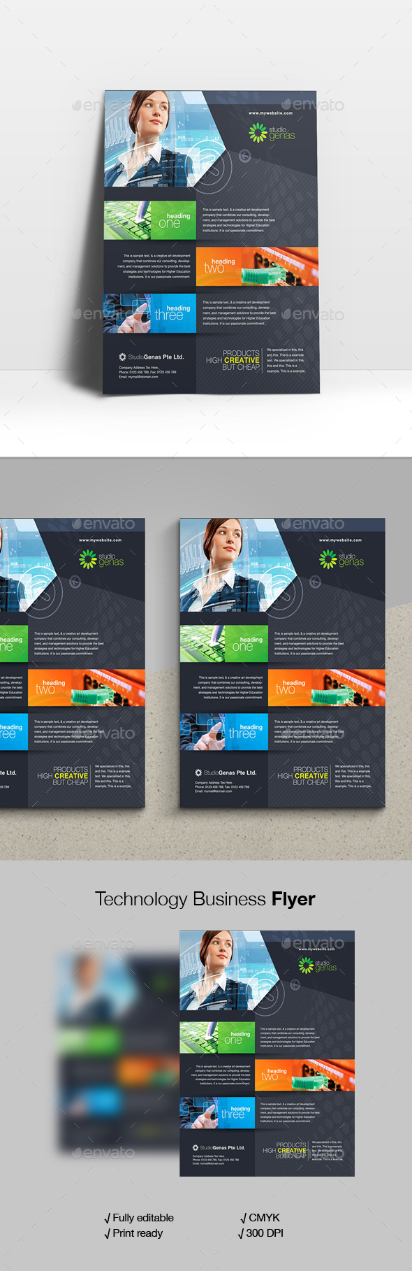 Technology Business Flyer - Corporate Flyers