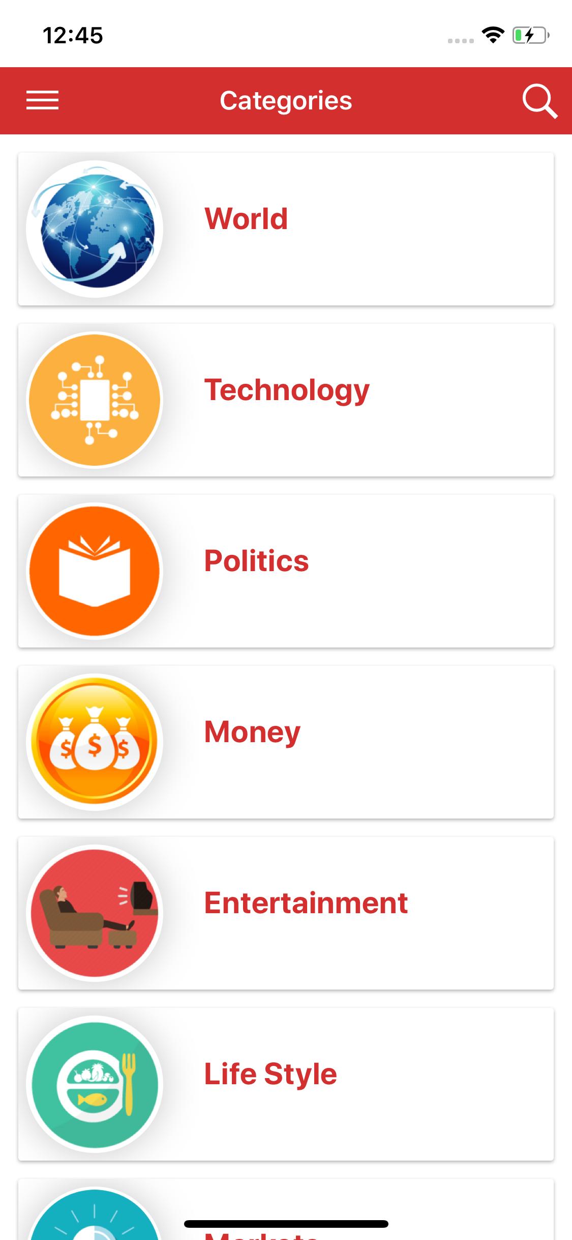 Full functional news app with admin panel Firebase Firestore & Ionic  Framework
