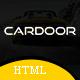 Cardoor - Car Rental HTML Template