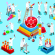 Laboratory Staff Isometric People Vector - GraphicRiver Item for Sale