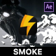 Hand Drawn Smoke Elements - VideoHive Item for Sale