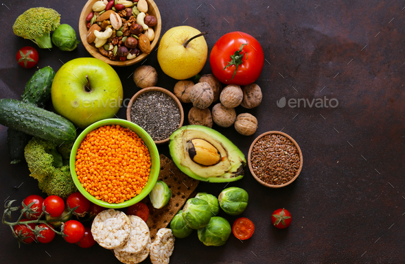 Vegetarian Food - Stock Photo - Images