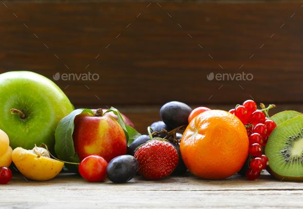 Organic Berries - Stock Photo - Images