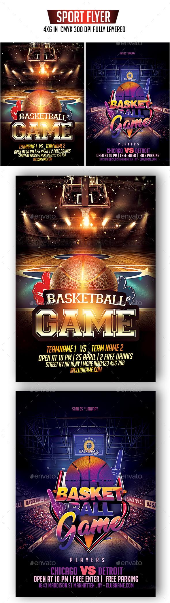 Basketball Flyer Bundle - Sports Events