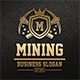 Mining Logo Badges - GraphicRiver Item for Sale