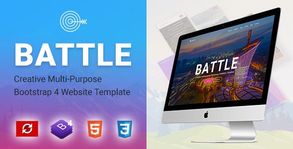Image of BATTLE | Creative Multi-Purpose Bootstrap Template