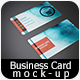 Realistic Business Card Mock-up 04 - GraphicRiver Item for Sale