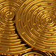 Gold Disk Background - VideoHive Item for Sale