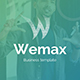 Wemax Pitch Deck Business Powerpoint Template - GraphicRiver Item for Sale