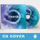 Minimal vol.2 - CD Cover Artwork Template - GraphicRiver Item for Sale