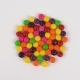 Top View Round Candy Sweets Rotated on White Background. Loopable. - VideoHive Item for Sale