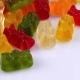 of Popular Gelatin Candies Shaped in the Form of a Bear Rotating on Turn Table - VideoHive Item for Sale