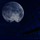 Night Reflecting Over Building - VideoHive Item for Sale
