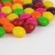 Round Candy Sweets Rotating. Isolated on White. Loopable. - VideoHive Item for Sale