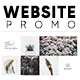 White Theme Website Promo - VideoHive Item for Sale