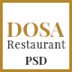 DOSA One Page Restaurant PSD Template - ThemeForest Item for Sale