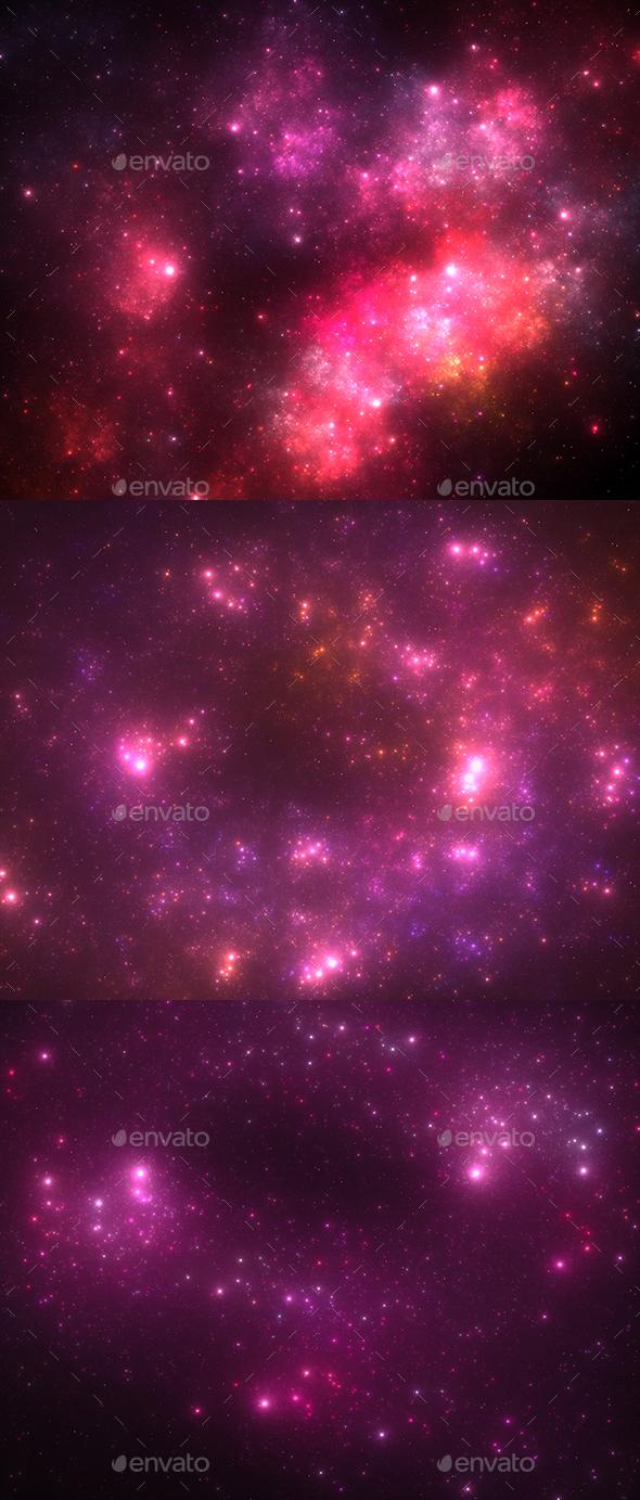 Dark Deep Space Starfield - Backgrounds Graphics