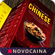 Chinese A4 & US Letter Trifold Food Menu Vol 2 - GraphicRiver Item for Sale