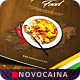 Indian Food Menu A4 & US Letter - Bifold -  Vol 2 - GraphicRiver Item for Sale