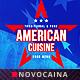 American Cuisine A4 & US Letter Single Page Menu - GraphicRiver Item for Sale