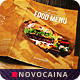 Multipurpose Food Menu - New Art - A4 & US Letter Bifold - GraphicRiver Item for Sale