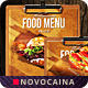 Multipurpose Food Menu - New Art - A4 & US Letter - GraphicRiver Item for Sale
