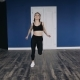 Young Woman Doing Fitness Exercises Indoors - VideoHive Item for Sale
