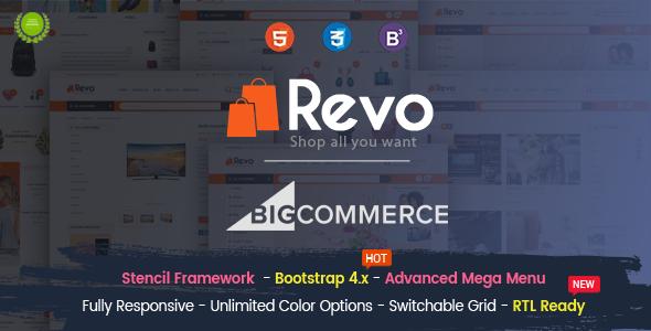 Image of Revo - Multipurpose Stencil Responsive BigCommerce Theme